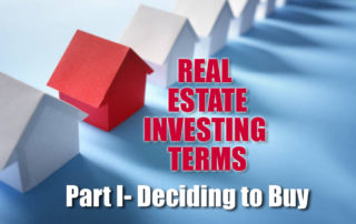Real Estate Investing terms
