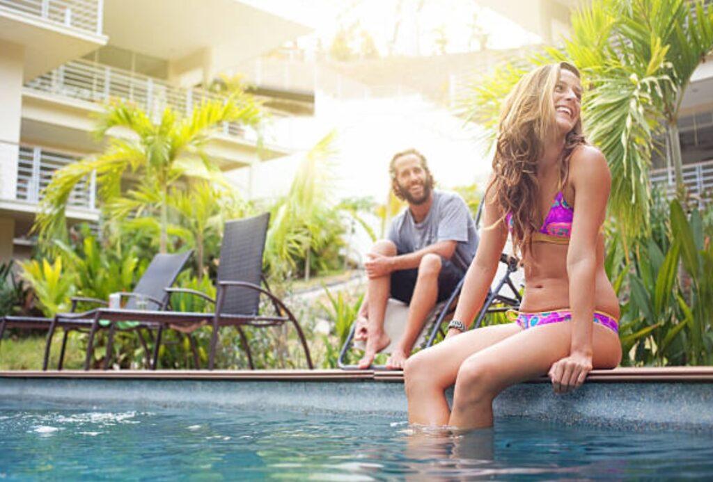 Maui condo pool